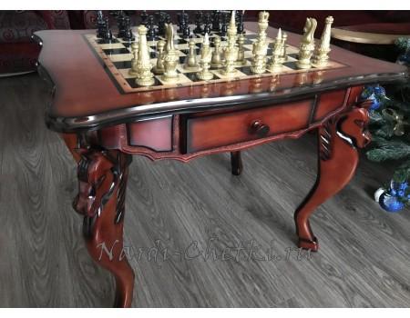 Купить шахматный стол «Вороной»